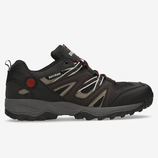 Dek - Zapatillas para correr en montaña para hombre, color negro, talla 45