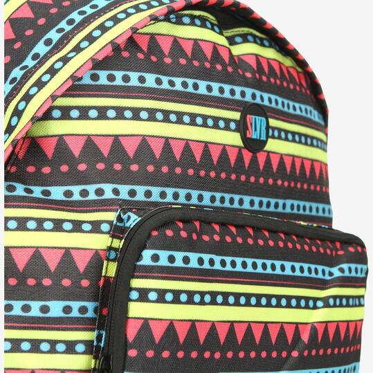 Mochila Colegial SILVER Estampado Multicolor