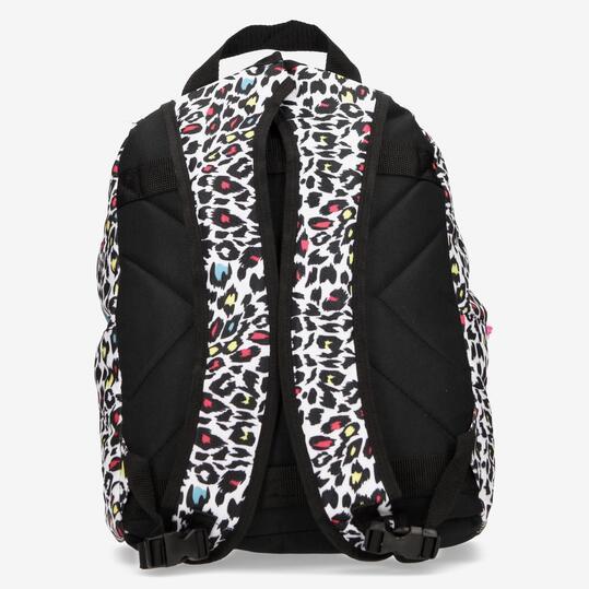 Mochila Colegial SILVER Leopardo Multicolor