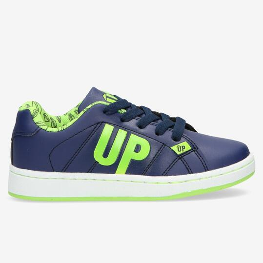Zapatillas Casual UP Velcro Marino Niño (22-27)