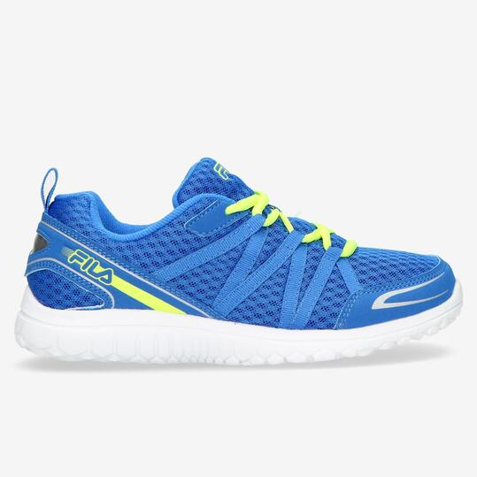 FILA FLYVER Zapatillas Running Azul Niño