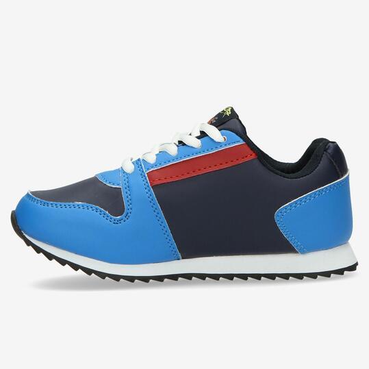 Sneakers Casual SILVER Azul Niño (28-35)