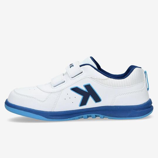 Zapatillas Velcro KELME Blancas Niño (36-39)
