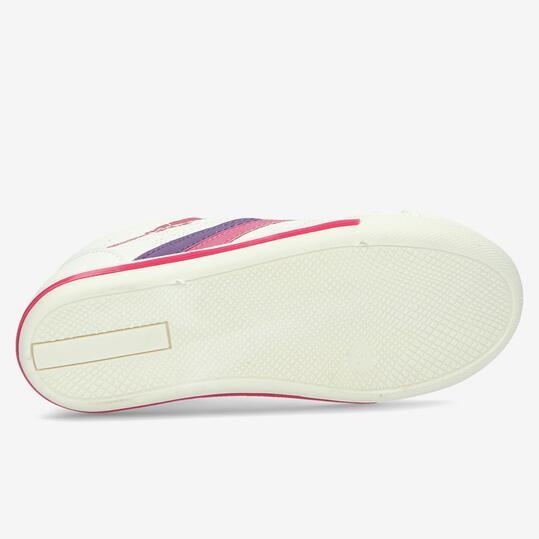 Zapatillas Casual SILVER Blancas Niña (28-35)