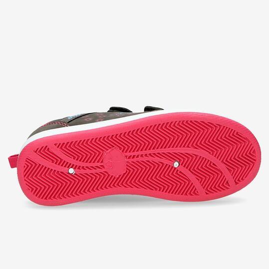 Zapatillas Casual Velcros SILVER Gris Niña (28-35)