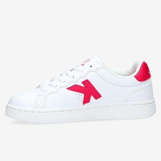 Zapatillas Casual KELME Blanco Rojo Niño (28-35)