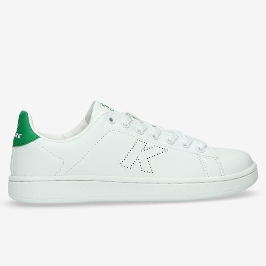 Zapatillas Casual KELME Blanco Verde Niño (36-39)