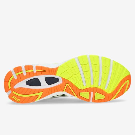 FILA FREEZE ENERGIZED Zapatillas Running Amarillo Hombre