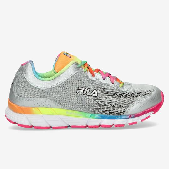FILA ENERGIZED Zapatillas Running Gris Mujer