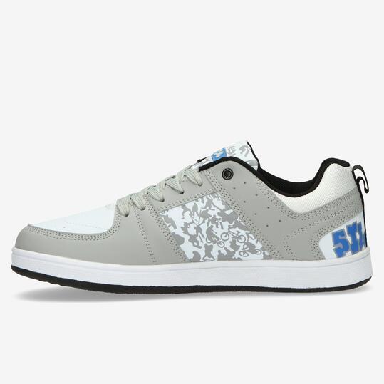 Zapatillas Skate SILVER Gris Blanco Hombre