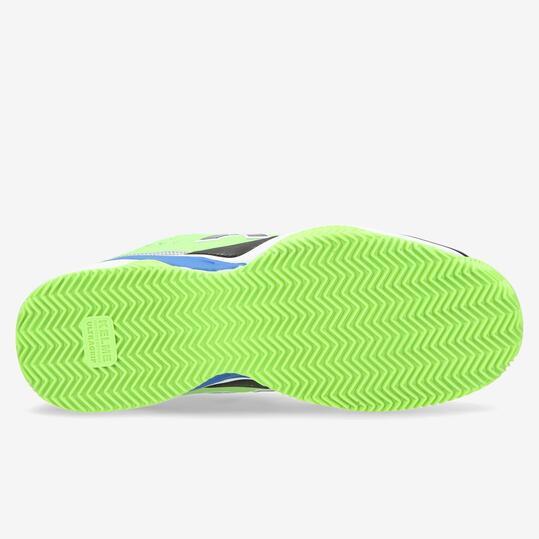 KELME Zapatillas Pádel Azul Verde Hombre