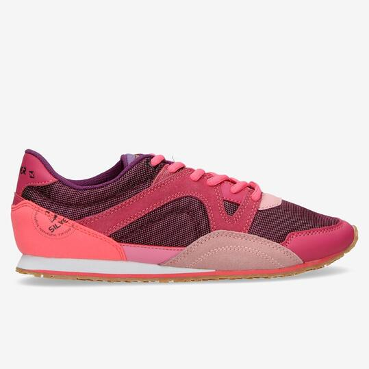 Sneakers Casual SILVER Rosa Mujer