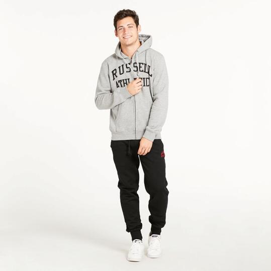 Sudadera Capucha RUSSEL ATHLETIC Gris Hombre