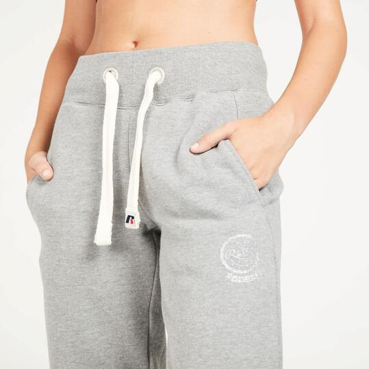 Pantalón Largo RUSSELL ATHLETIC Gris Mujer