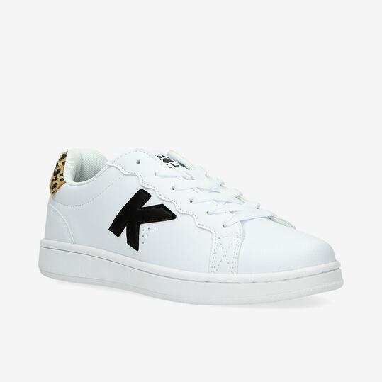 KELME Zapatillas Clásicas Blancas Mujer