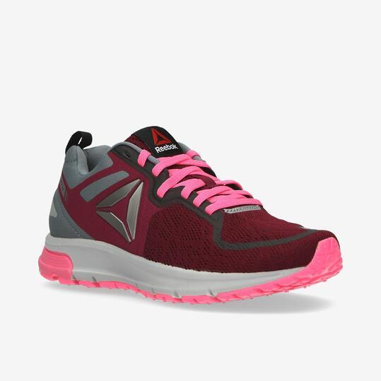 REEBOK DISTANCE Zapatillas Running Granate Mujer