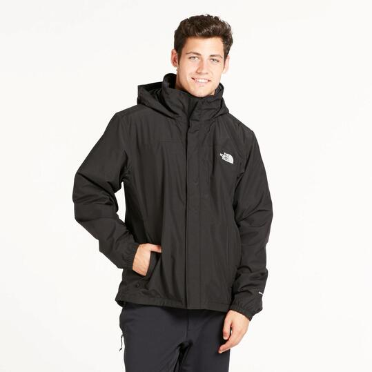 chaqueta north face negra