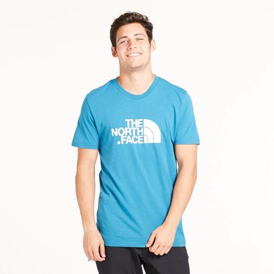 THE NORTH FACE Camiseta Manga Corta Azul Hombre
