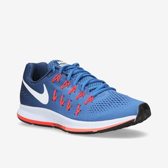 NIKE AIR ZOOM PEGASUS 33 Zapatillas Running Azul Hombre