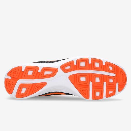 NIKE REVOLUTION 3 Zapatillas Running Gris Naranja Hombre