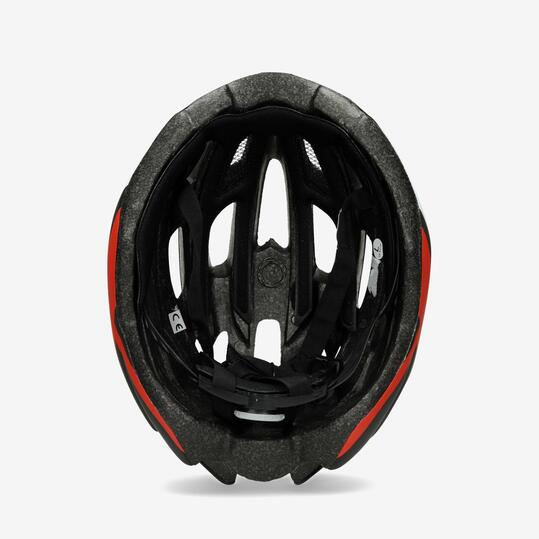Casco Bici MÍTICAL R100 Negro Rojo