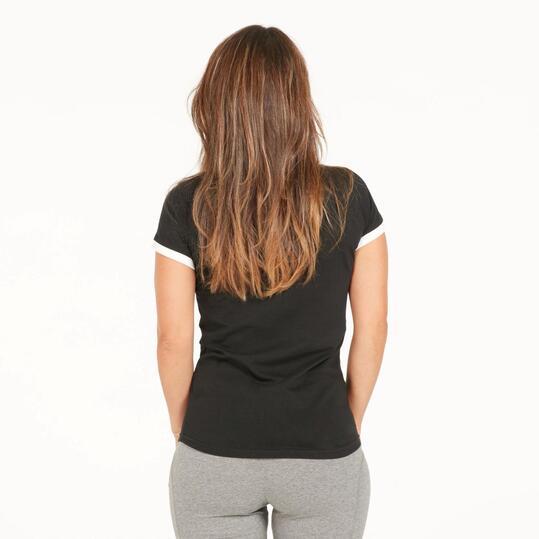 FILA ARIEL Camiseta Negra Mujer