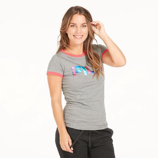 FILA ARIEL Camiseta Gris Mujer