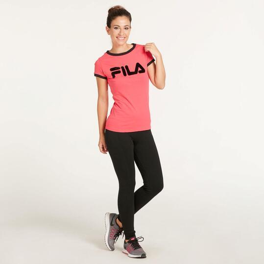 FILA TITANIA Camiseta Fucsia Mujer