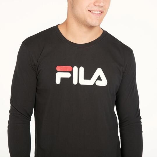FILA EAGLE Camiseta Manga Larga Negro Hombre