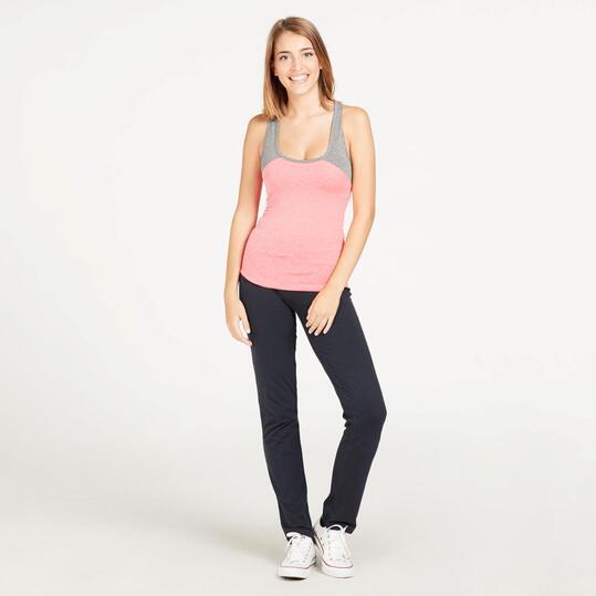 Camiseta Tirantes SILVER Rosa Mujer