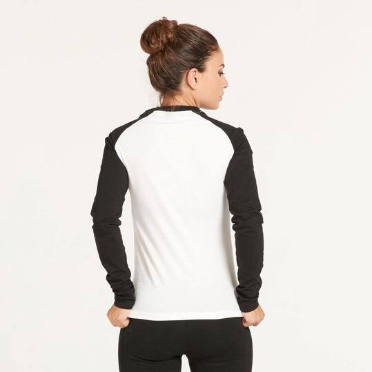 FILA OBERON Camiseta manga Larga Blanca Mujer