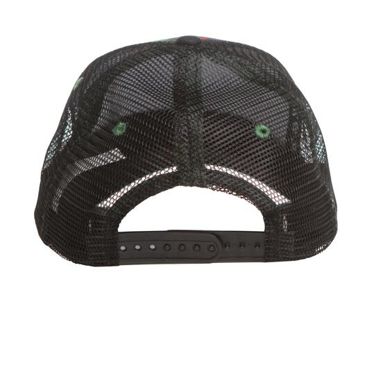 Gorra Estampada SILVER Negra Verde