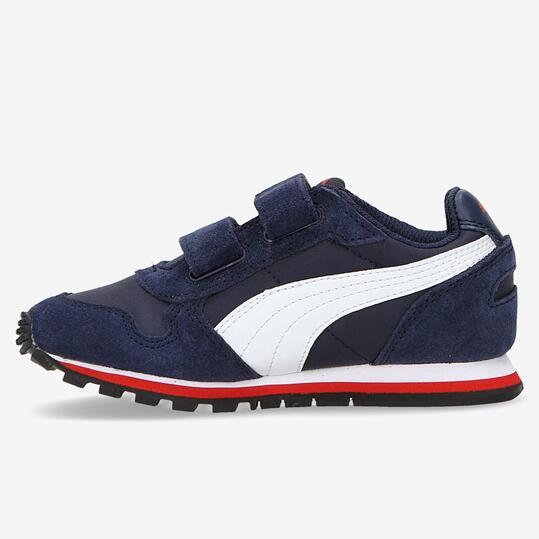 PUMA RUNNER Sneakers Marino Velcro Niño (28-35)