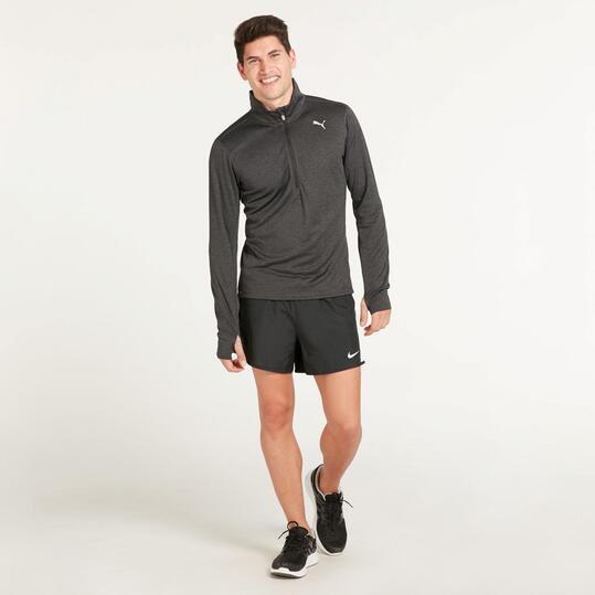 PUMA Camiseta Interior Running Negra Hombre