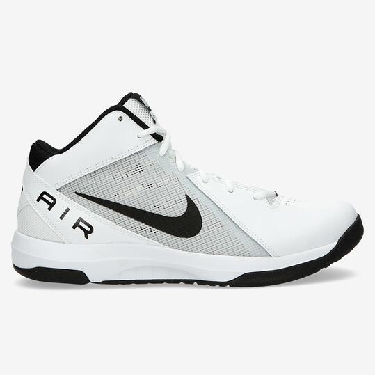 the best attitude 99aae 478e7 Blanco The Overplay Blancas Hombre Air Botas Nike Baloncesto HO0azqqn