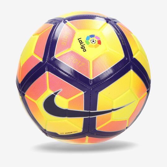 NIKE Q4 STRIKE LFP Balón Fútbol Amarillo Azul