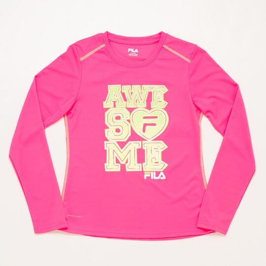 FILA PINK Camiseta Rosa Niña (8-16)