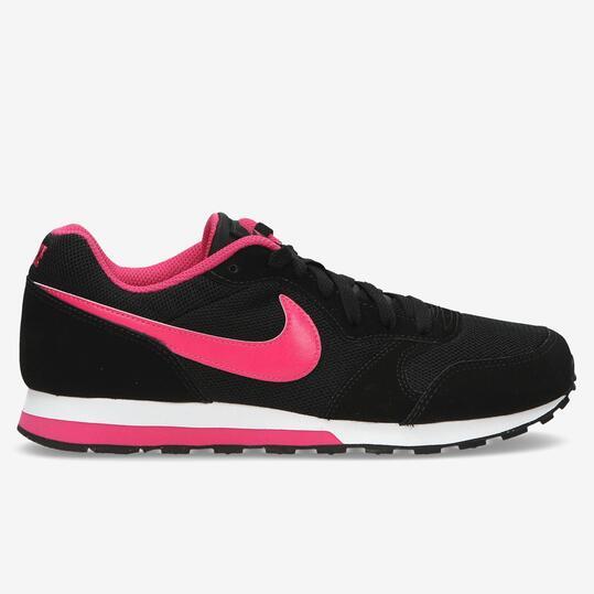 NIKE RUNNER Sneakers Negro Fucsia Mujer