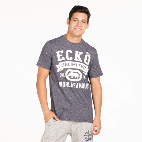 ECKO BARRON Camiseta Gris Hombre