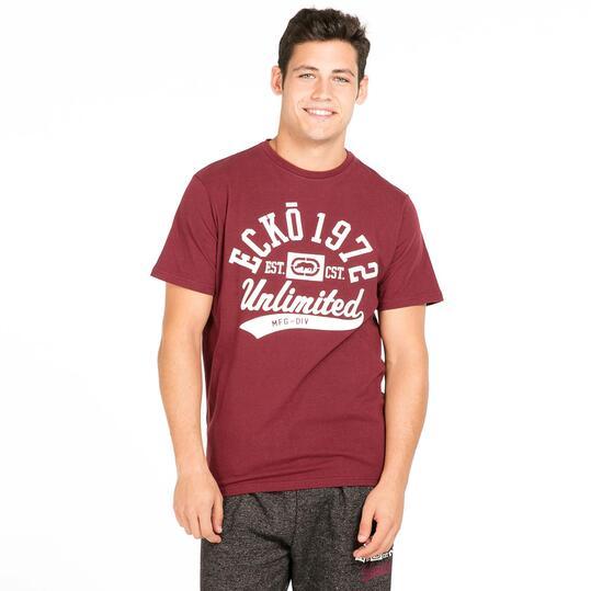 ECKO FORSYTH Camiseta Granate Hombre