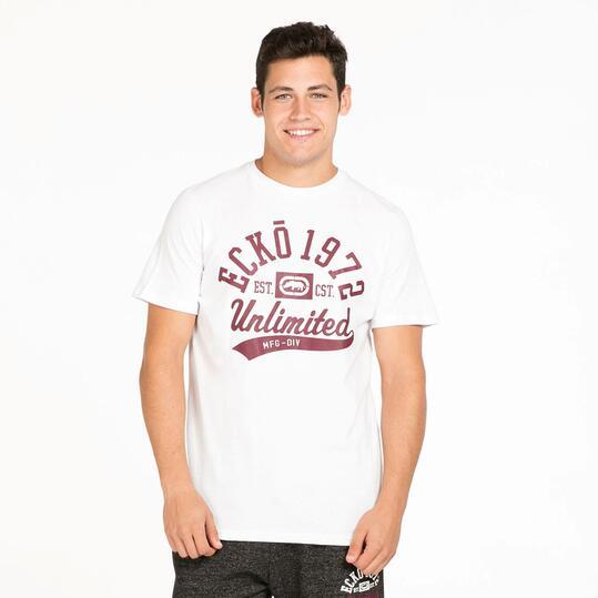 ECKO FORSYTH Camiseta Blanca Hombre