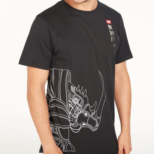 ECKO SPLIT RHINO Camiseta Negra Hombre