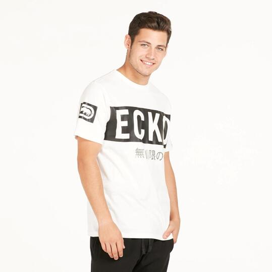 ECKO BLAZE Camiseta Blanca Hombre