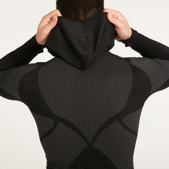 Camiseta Interior Capucha BORIKEN Negro Hombre