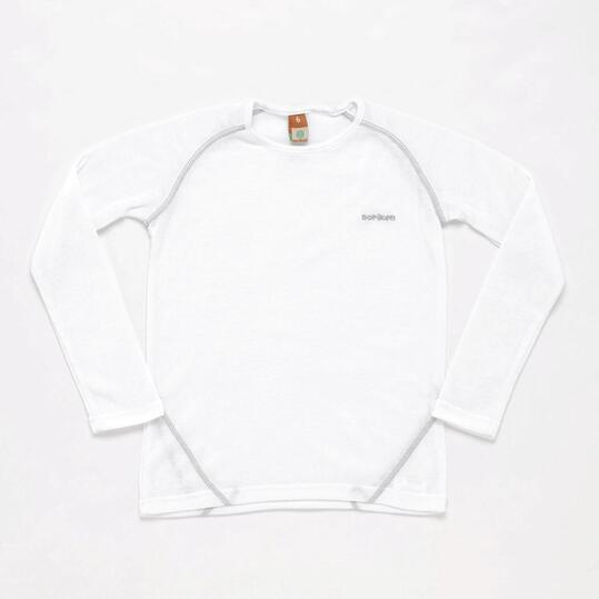 Camiseta Interior BORIKEN Blanco Niño (10-16)
