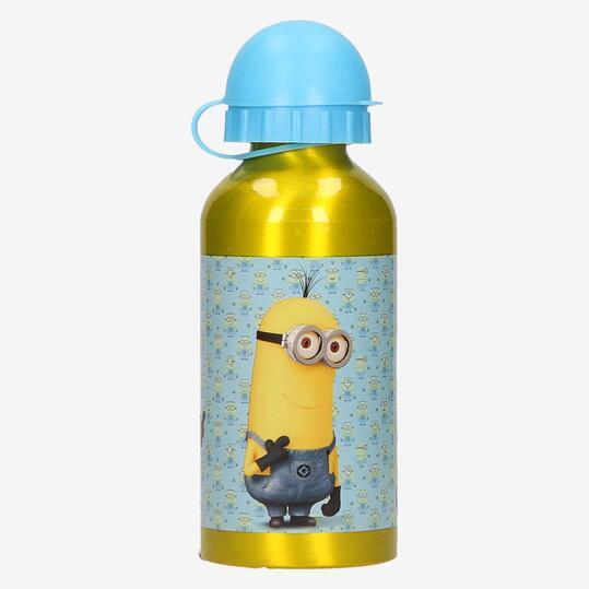 Botella Aluminio MINIONS 400ml Amarillo
