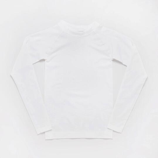 Camiseta Interior BORIKEN  Sin Costuras Blanco Niño (10-16)