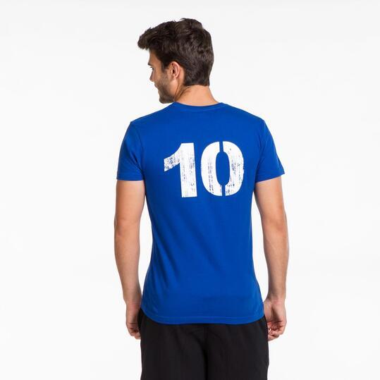 Camiseta Italia Eurocopa SILVER Hombre