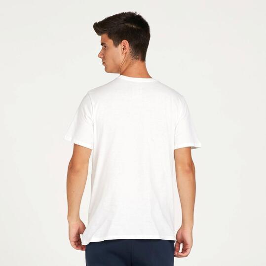 NIKE FUTURA Camiseta Manga Corta Blanca Hombre