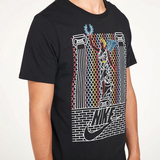 NIKE FUTURA LOGO Camiseta Negra Hombre